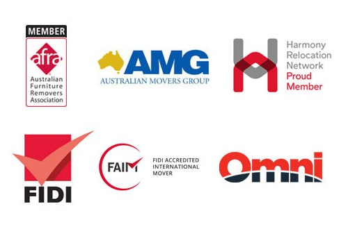Company logos of Nuss Removals trusted partners