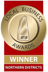 2018 Local Business Awards Winner