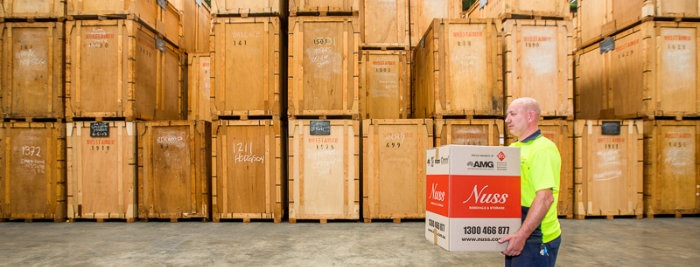 Furniture storage facility in Sydney